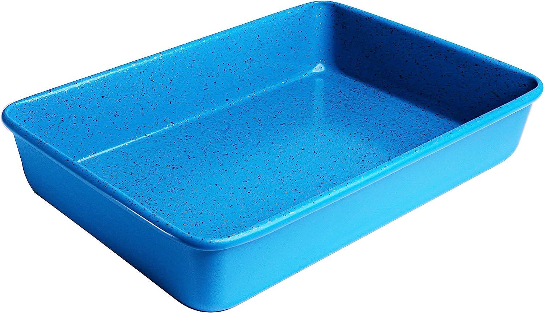 Blue Granite casaWare 13 x 9 x 2-inch Ultimate Series Commercial Weight Ceramic Non-Stick Coating Rectangular Cake Pan