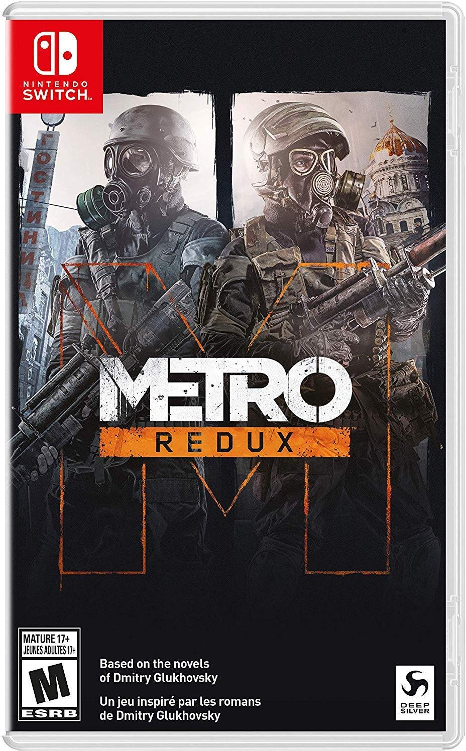 Metro Redux for Nintendo Switch [USA]: Amazon.es: Thq Nordic: Cine ...
