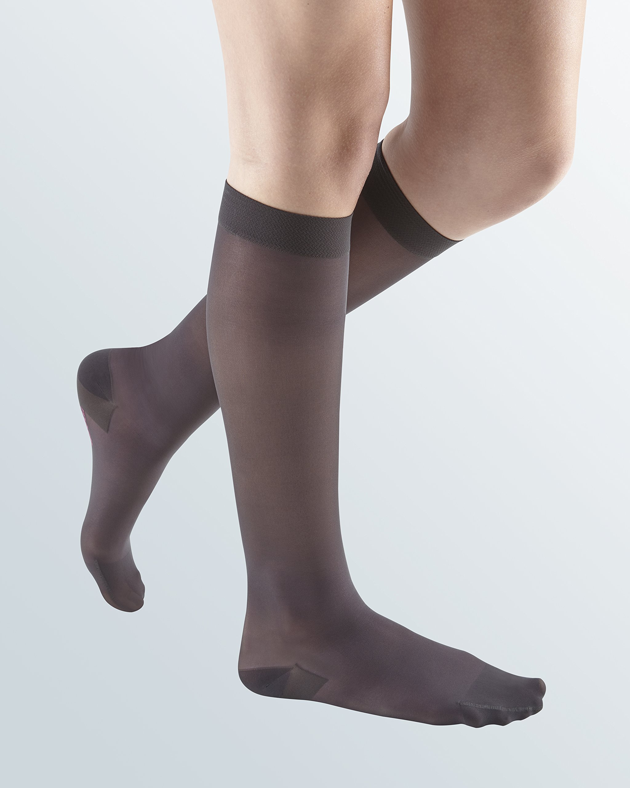 mediven Sheer & Soft, 20-30 mmHg, Calf High Compression Stockings, Closed Toe by mediven
