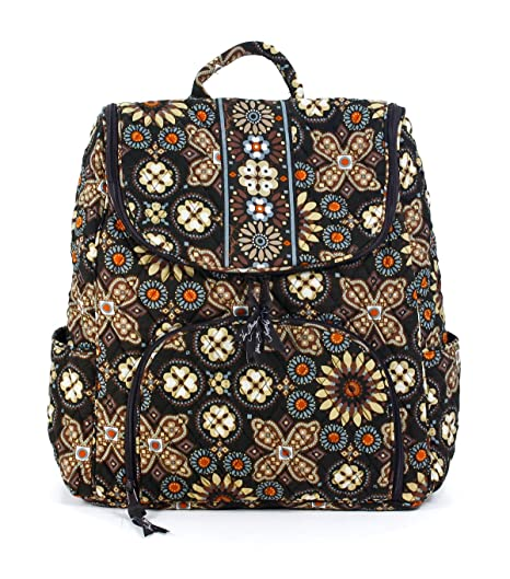 14266d4f6b20 Amazon.com  Vera Bradley Double Zip Backpack Canyon  Shoes