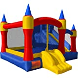 Cloud 9 Mighty Bounce House - Inflatable Royal Slide Jump Castle without Blower