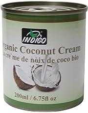 Indigo Organic Coconut Cream, 200ml