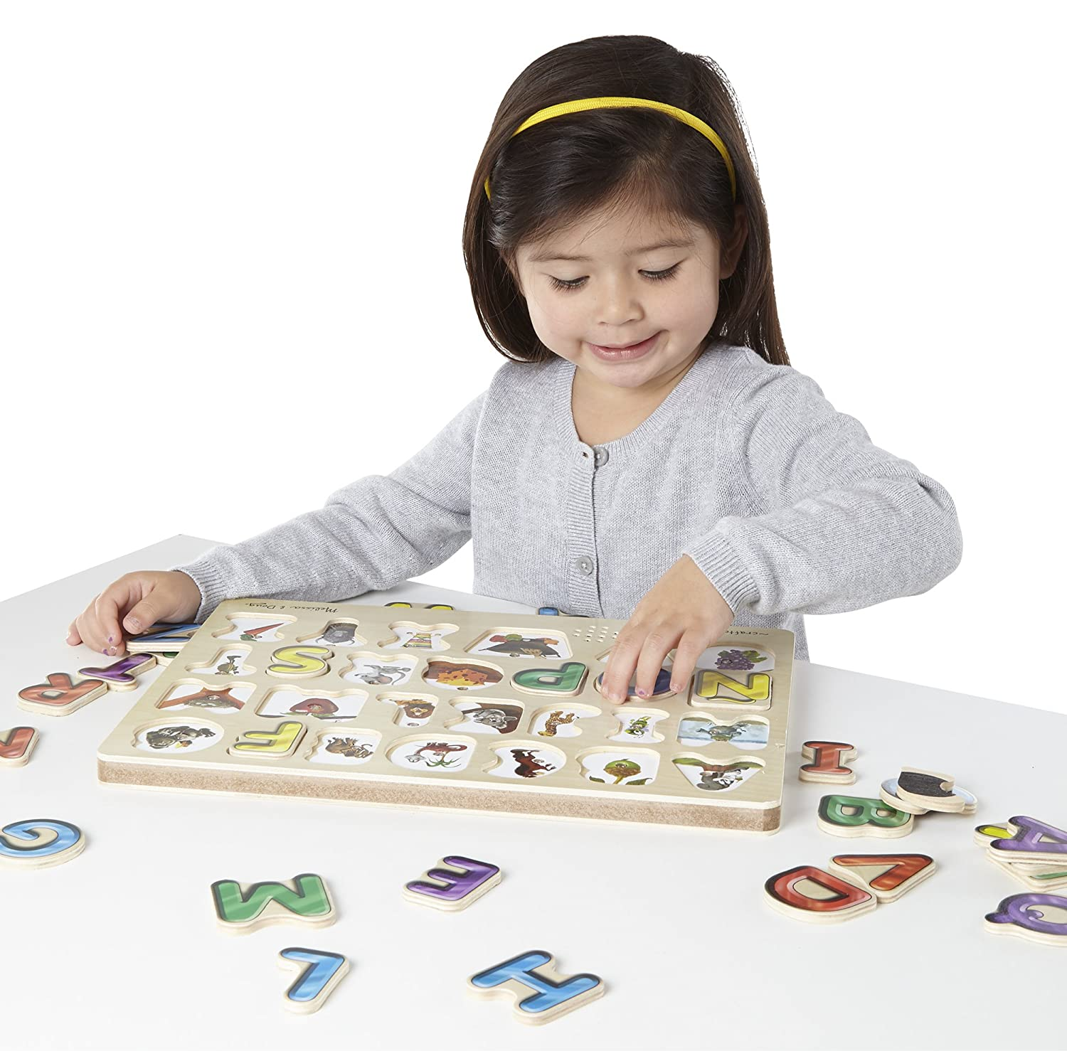 Amazon Melissa & Doug Spanish Alphabet Sound Puzzle 27 pcs