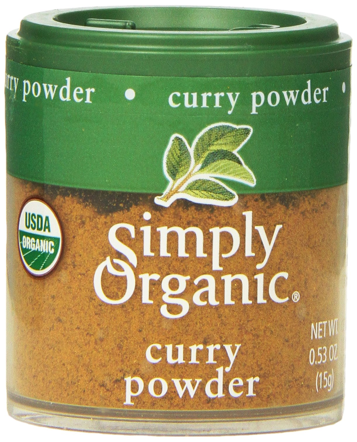 Simply Organic Curry Powder, Mini Spice, 0.53 Ounce (Pack of 6) by Simply Organic (Image #1)