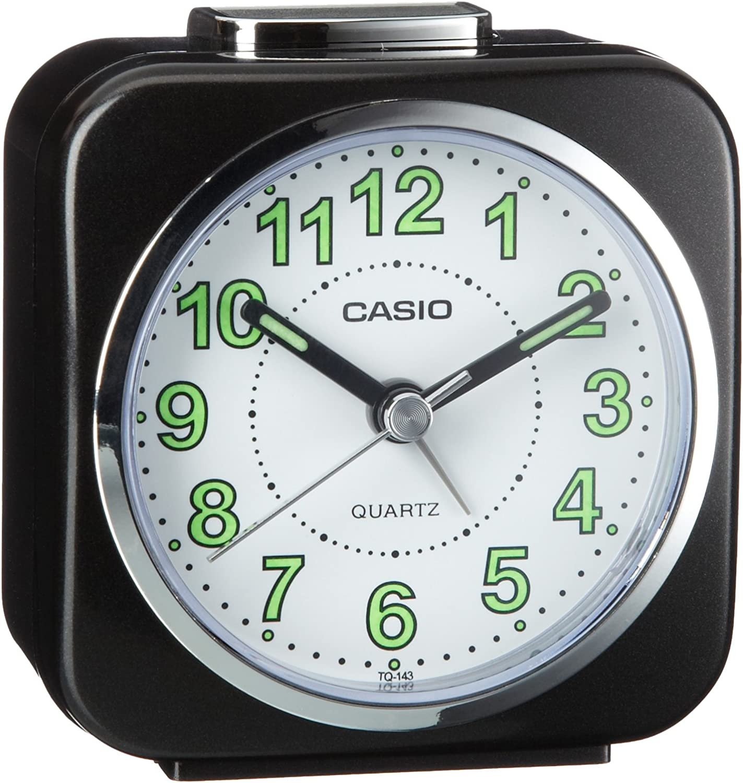 Casio Collection Reloj Despertador, Negro
