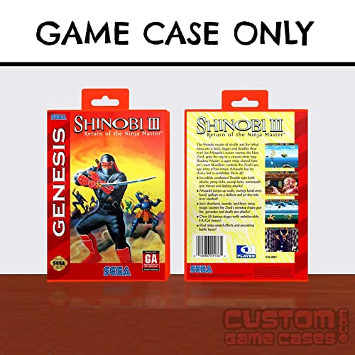 Amazon.com: Sega Genesis Shinobi III: Return of the Ninja ...