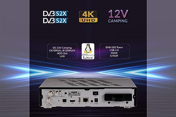 AX HD61 4K UHD Digital Linux Twin: Amazon.es: Electrónica