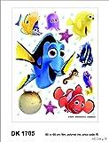 Disney Nemo Décoration Sticker Adhesif Mural Géant Répositionnable
