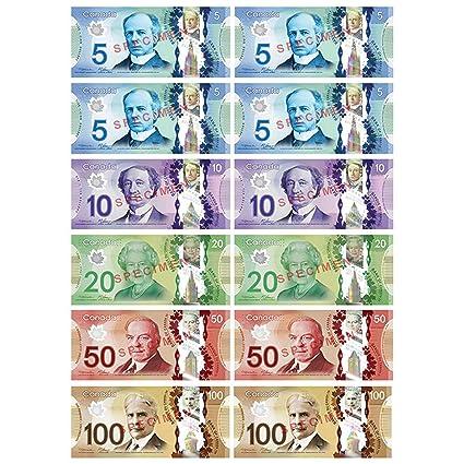 Amazon com: Ashley Productions Multicolor Canadian Dollar