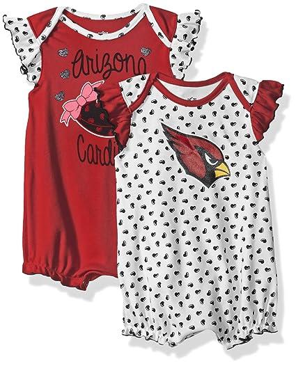 Amazon.com  NFL Girls Newborn Heart Fan 2Piece Creeper Set  Sports ... 5376a76ab