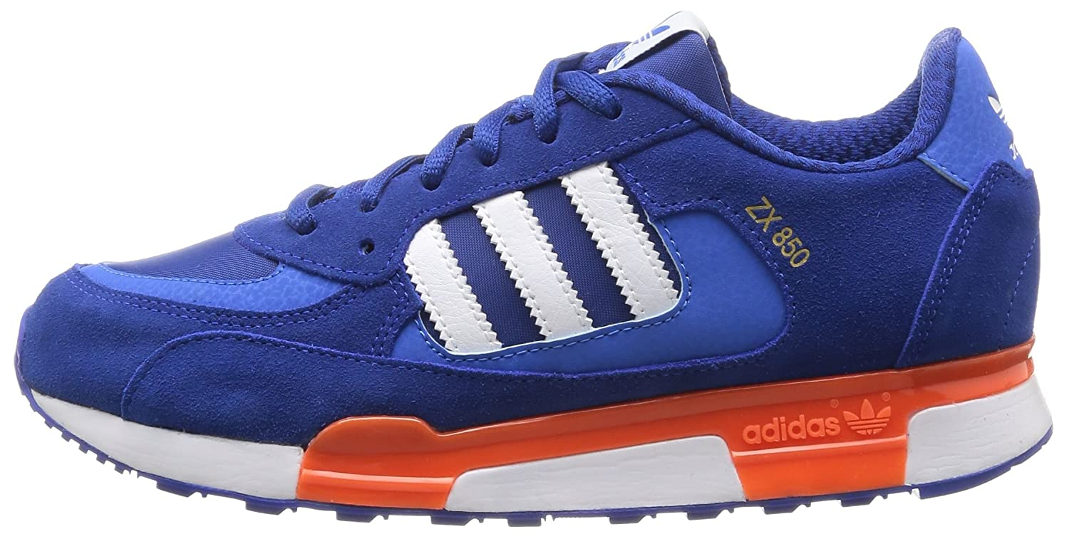 new concept 9b807 81161 adidas Originals Boy s Zx 850 K Collegiate Royal and White Sneakers - 6  UK India (39.3 EU)  Buy Online at Low Prices in India - Amazon.in
