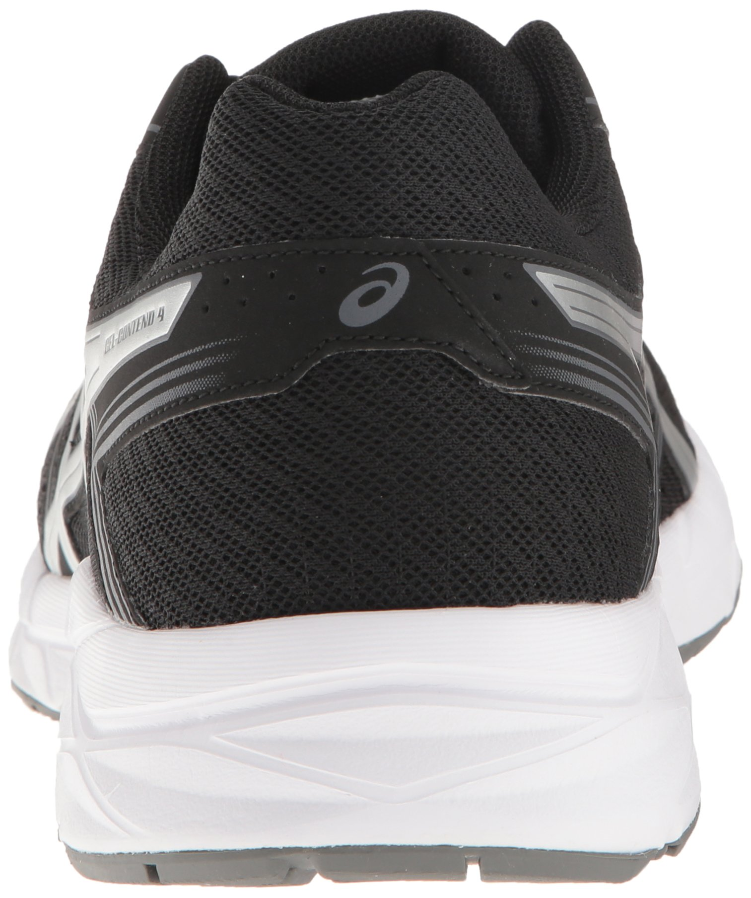 ASICS Men's Gel-Contend 4 Running Shoe, Black/Silver/Carbon, 7.5 M US by ASICS (Image #2)