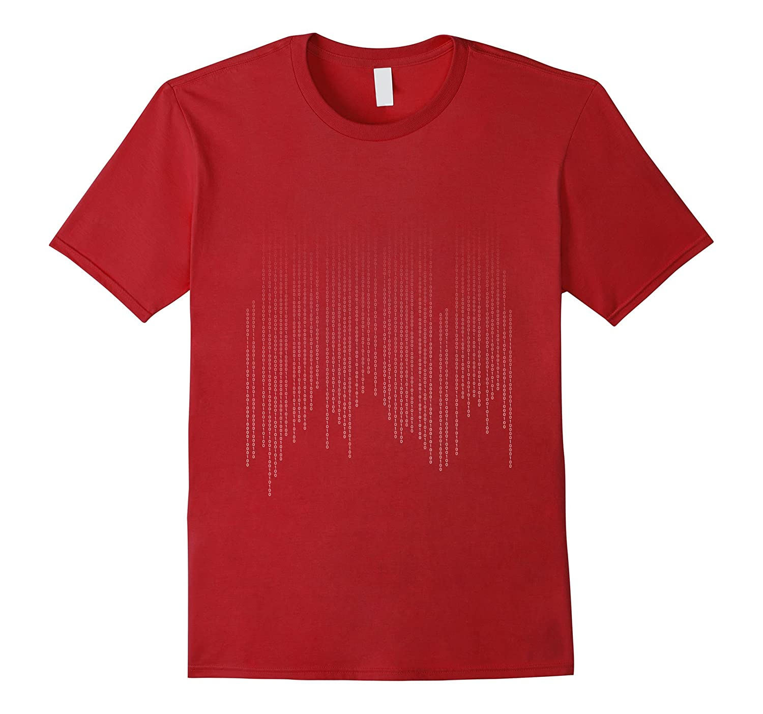 DAD In Binary Code Funny T-Shirt-TH