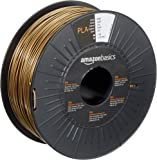 AmazonBasics PLA 3D Printer Filament, 1.75mm, Gold, 1 kg Spool