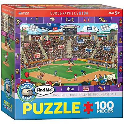 Baseball - Spot and Find 100-Piece Puzzle: Toys & Games [5Bkhe0504132]