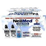 NeilMed Sinus Rinse - 2 Bottles - 250 Premixed Packets,5 Piece Set