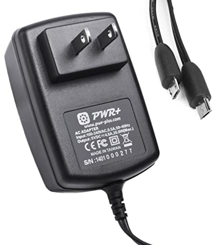 Amazon pwr 65 ft extra long 4a dual usb charger tablet pwr 65 ft extra long 4a dual usb charger tablet phone power adapter for samsung keyboard keysfo Image collections