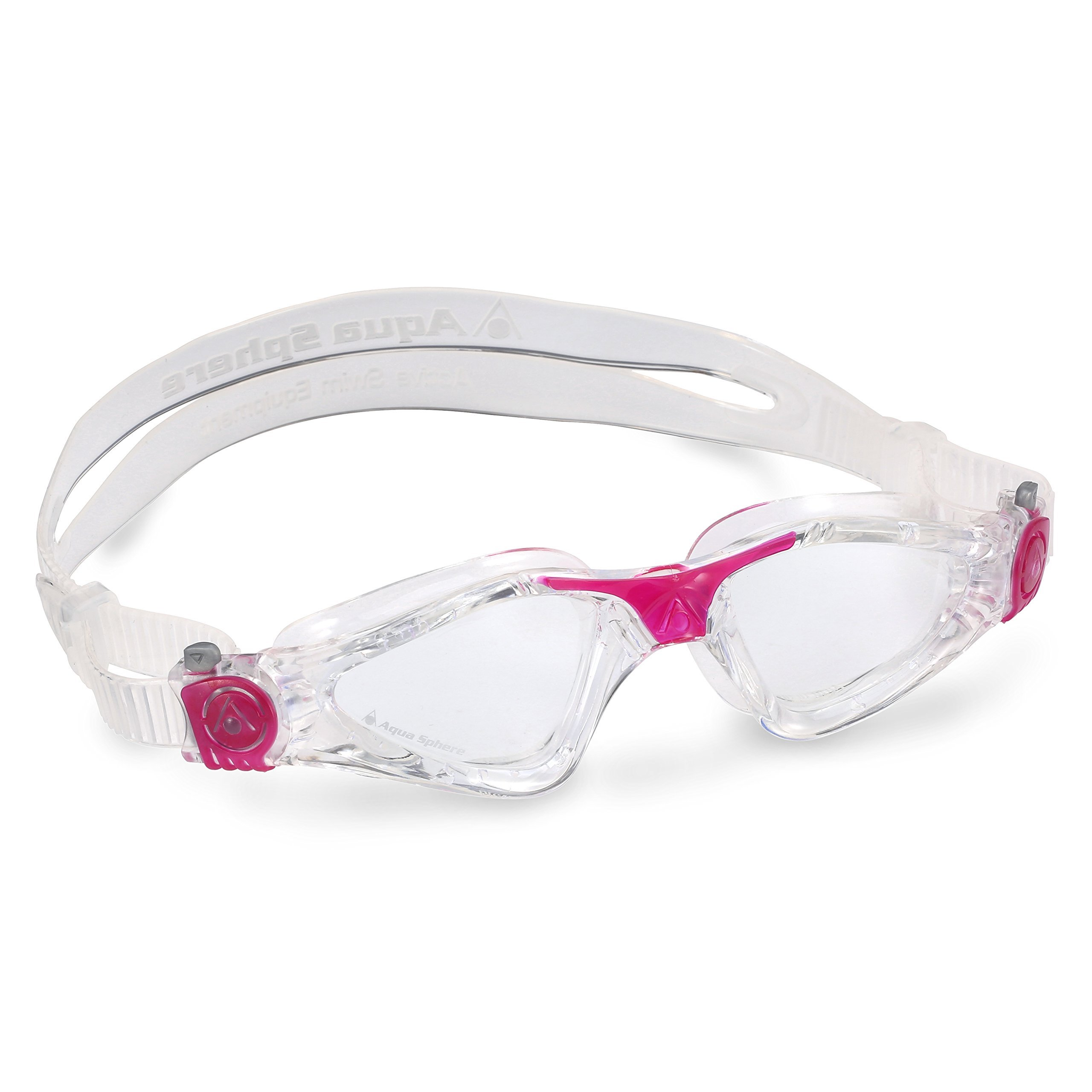Aqua Sphere Kayenne Ladies with Clear Lens (Trasp/Fuxia) Swim Goggles for Women by Aqua Sphere (Image #8)
