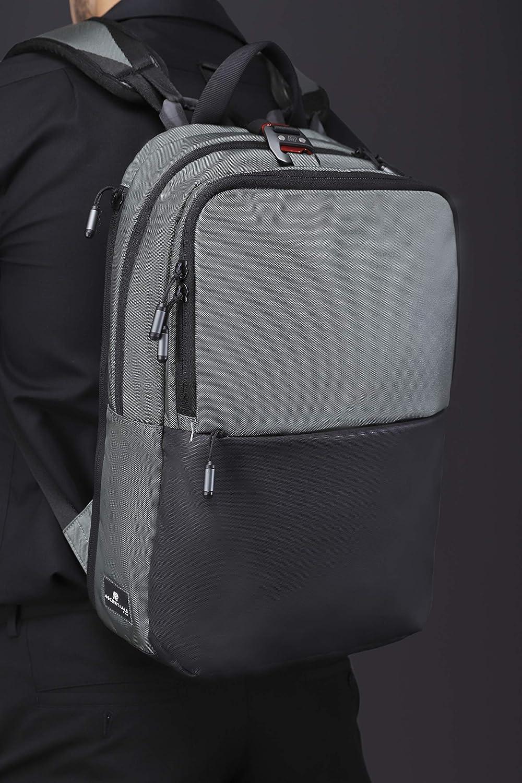 Water Resistant Ascentials Pro Boss 15 Laptop Messenger for Men Travel Business Backpack
