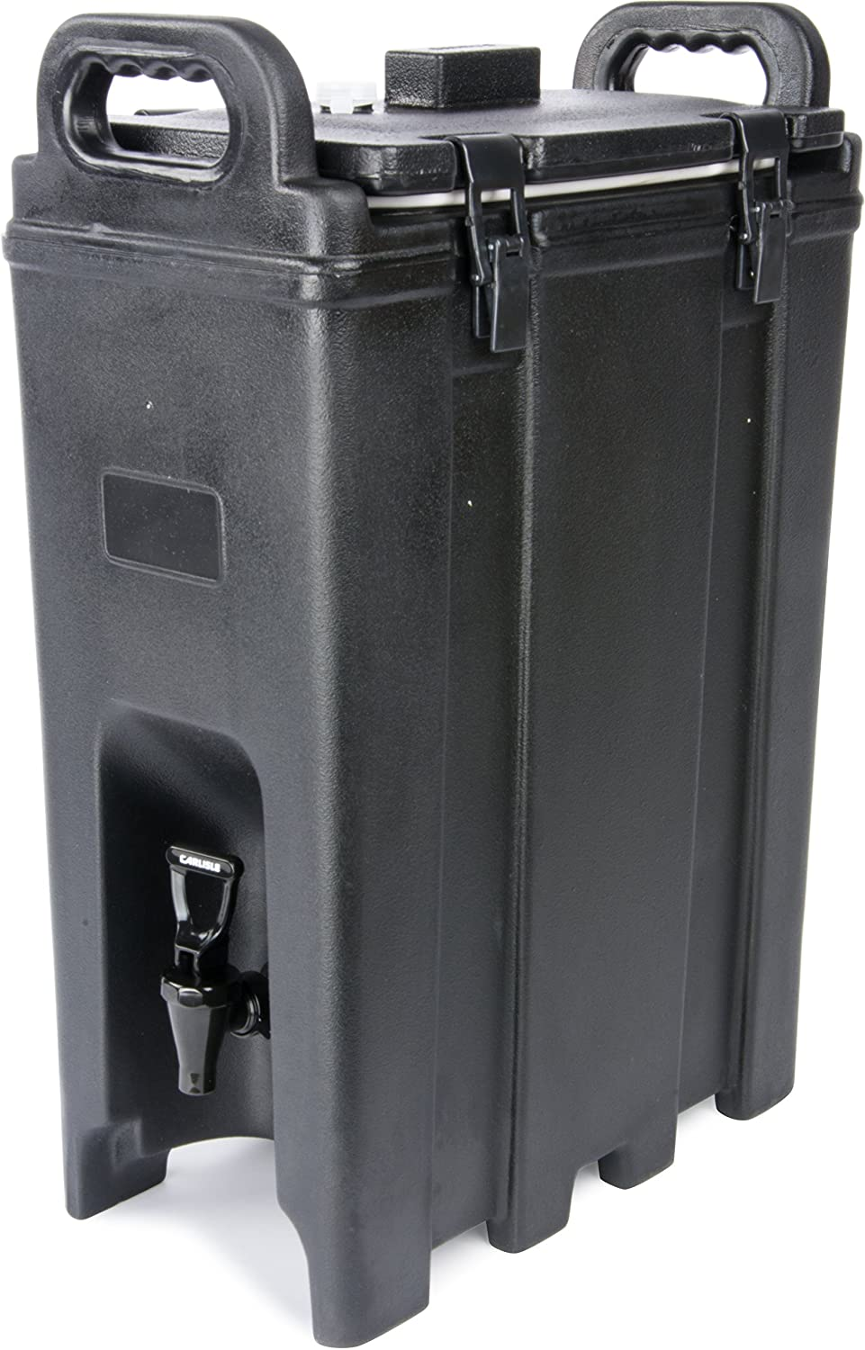 Carlisle LD500N03 Cateraide Polyethylene Insulated Beverage Server, 5 gal. Capacity, 16-3/8 L x 9 W x 24.20 H, Black Carlisle FoodService Products LD500N-03