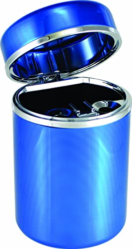 Bell Automotive 22-1-39264-8 Blue Aluminum Automotive Ash Tray