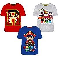 Ryan's World 3 Pack T-Shirts