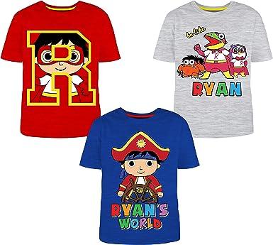 RYANS WORLD Boys T-Shirt White Size 6