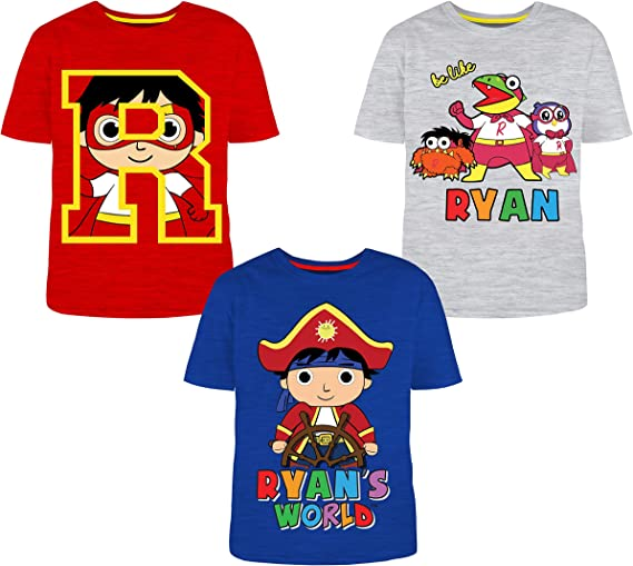 RYANS WORLD 2 Pack Long Sleeve Graphic T-Shirts