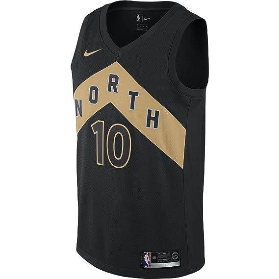 Nike NBA Toronto Raptors Demar DeRozan 10 2017 2018 City Edition Jersey Oficial Away, Camiseta de Hombre: Amazon.es: Ropa y accesorios