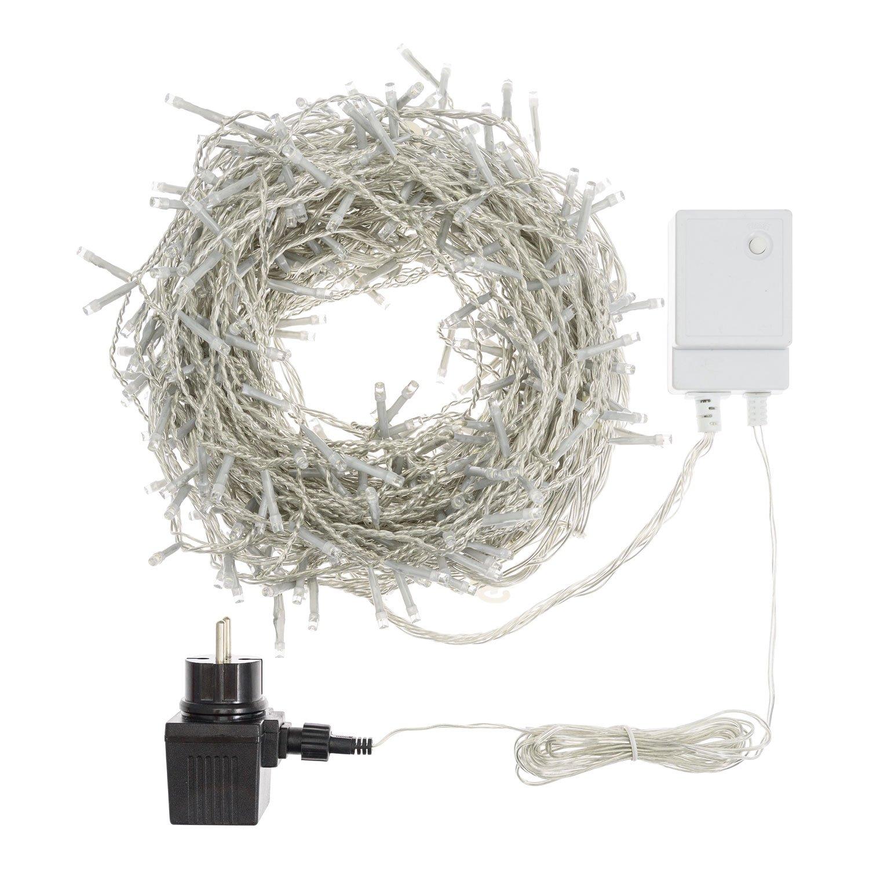 Digital XLED TEP 384-K L500 Tenda con 384 led bianco freddo, 5m x 1.5m Luminalpark Lotti Importex S.R.L.