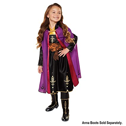 Amazon.com: Disfraz de Anna Adventure de Frozen 2 de Disney ...