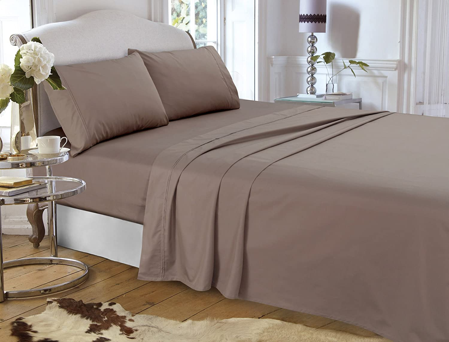 Nippon regular agency Tribeca Living Egyptian Cotton Percale Deep Count Poc 400-Theard Max 42% OFF