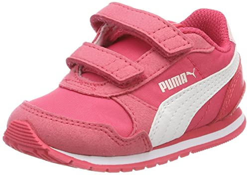 Puma St Runner V2 NL V Inf, Zapatillas Unisex Niños, Rosa (Paradise Pink-Puma White), 25 EU