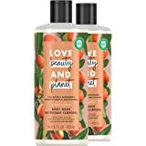 Love Beauty & Planet Majestic Moisture Body Wash Protects and Hydrates Dry Skin Shea Butter & Sandalwood Paraben Free and Veg