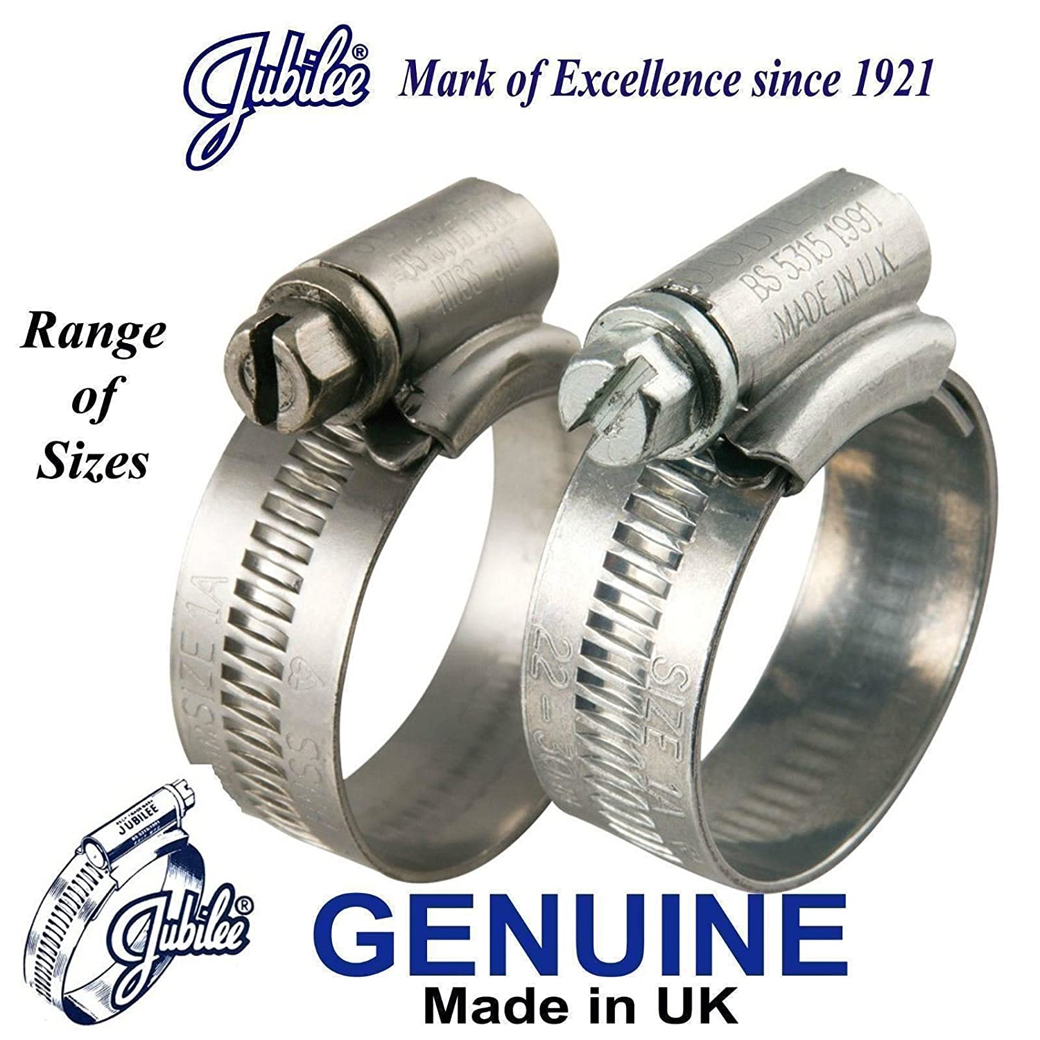 Worm drive hose clamp band 12 mm ,Italy choose hose diameter upto 120,type,pack