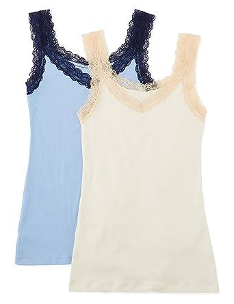 IRIS /& LILLY Camiseta de Tirantes de Modal Mujer Marca