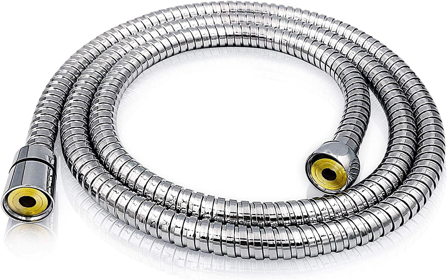 COMFORTHOME 79 INCH STAINLESS STEEL SHOWER HOSE REPLACEMENT POLISHED CHROME