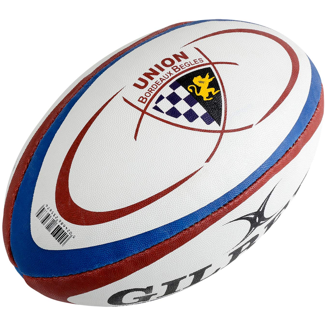 Gilbert Mini Ballon de Rugby Union Bordeaux Bègles (Taille 1 ...