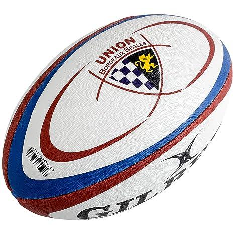 GILBERT Ballon de Rugby Begles Bordeaux RGB: Amazon.es: Deportes y ...