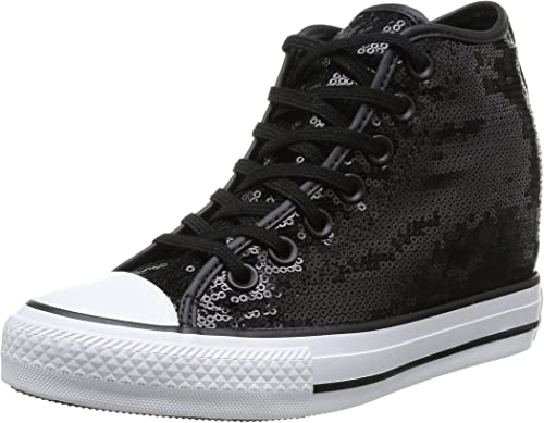 Converse, All Star Mid Lux Sequins, Sneaker, Donna