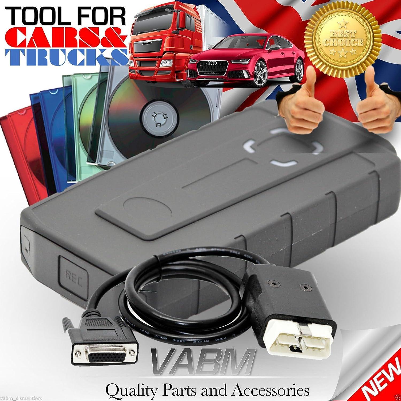 Outils de diagnostique automobile WoW SNOOPER V5.008R2 Pour Voiture/Camion Avec Bluetooth intégré mieux que ds 150
