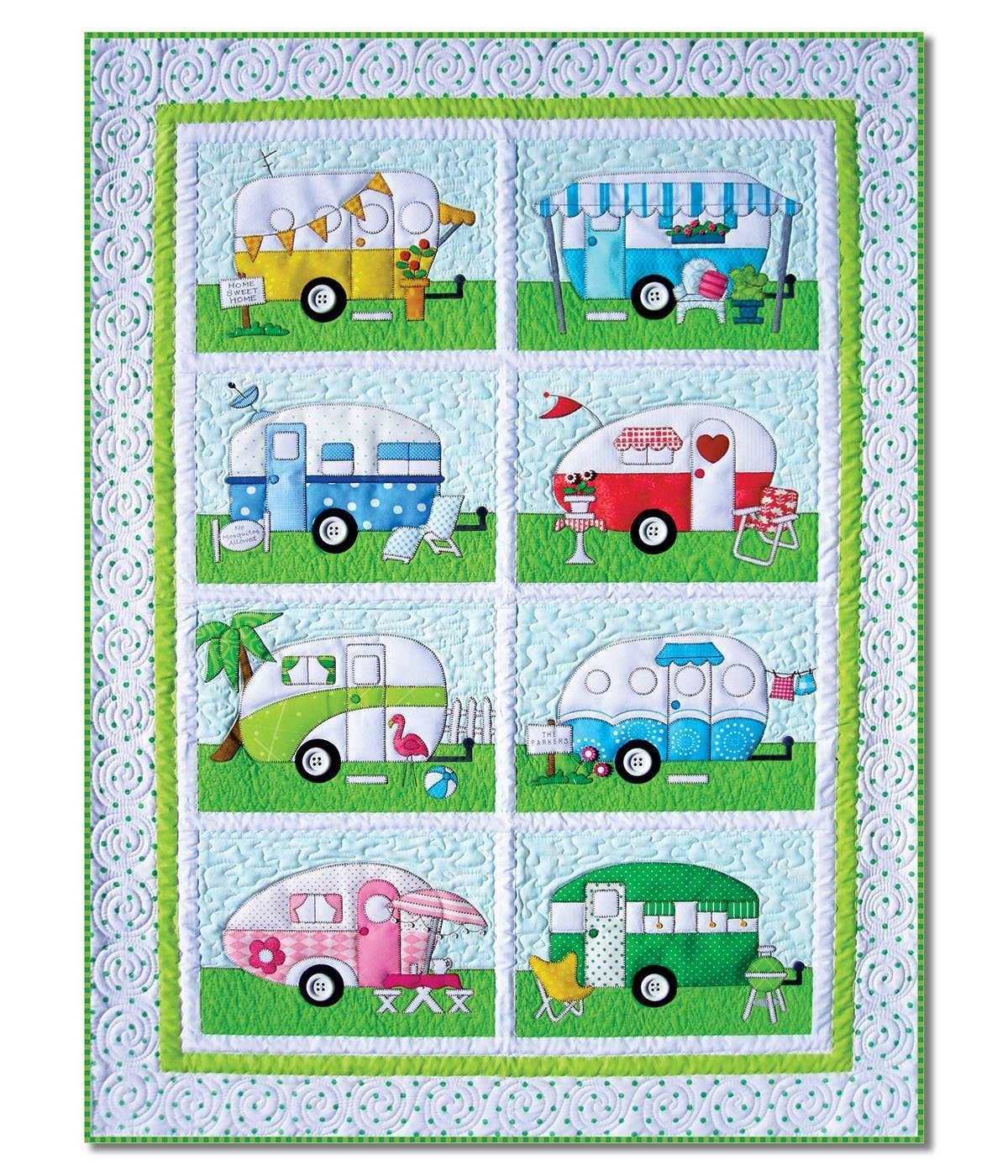 Campers - All Blocks - Laser Cut Kit by Lone Star Laser Co