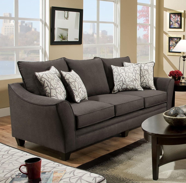 Amazon Chelsea Home Furniture Cupertino Sofa Flannel