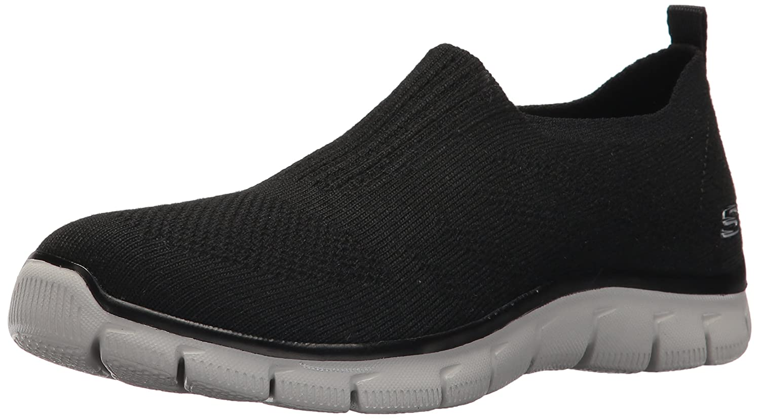 Skechers Women's Empire Clear As Day Sneaker B01MZC5AM2 6.5 B(M) US|Black 1