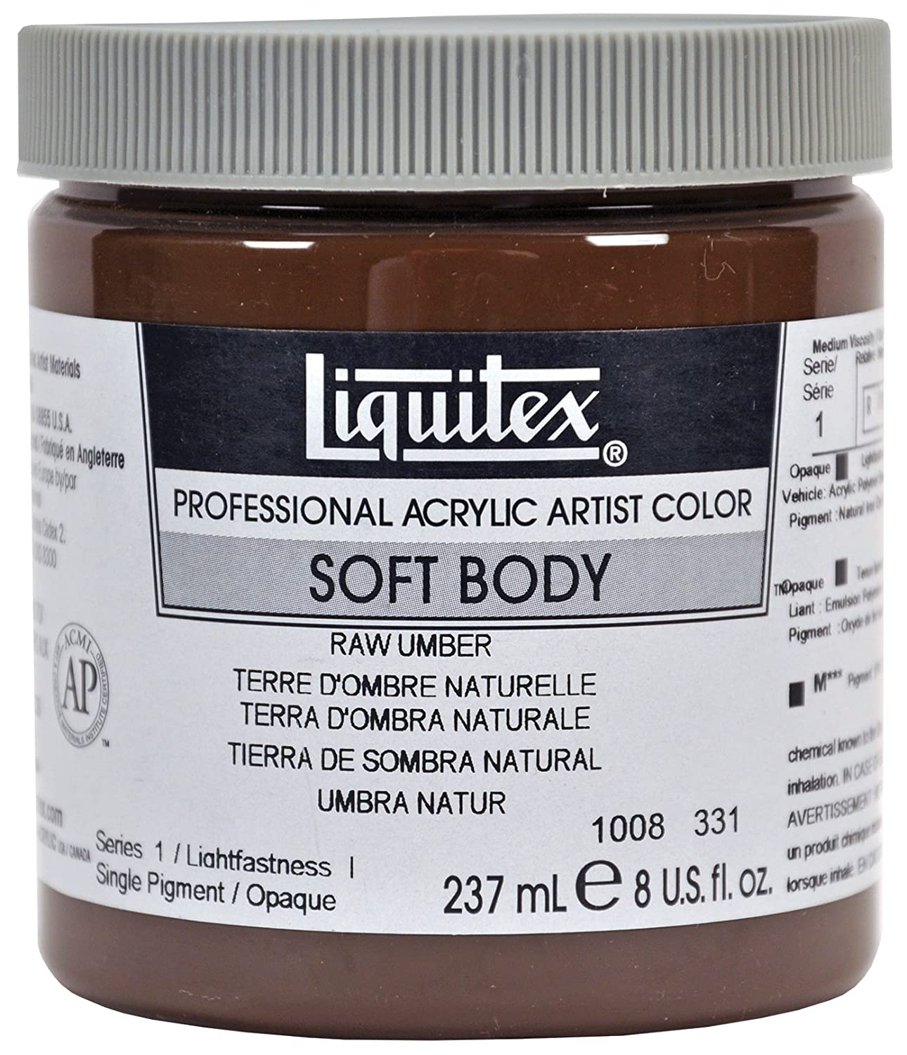 Liquitex Professional Soft Body Acrylic Paint - 237 ml, Cobalt Blue 1008170