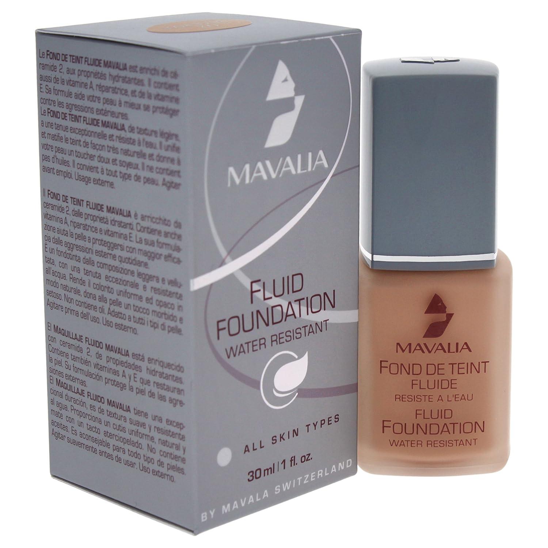 Mavala Fluid Foundation Beige Rose 51002 Beauty Votre Peau Facial Sun Shield Spf 50 30ml