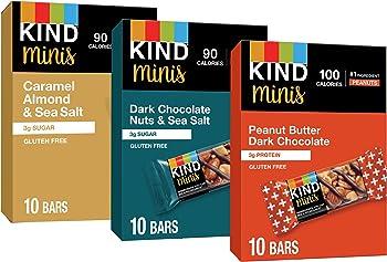 30-Count 0.7 oz Kind Mini Bars Variety Pack