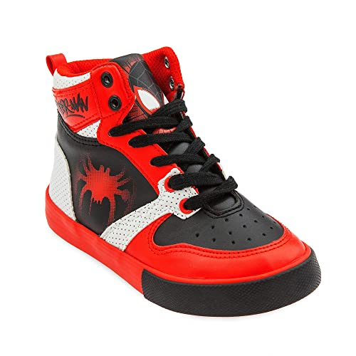 34e931525bd9 Marvel Spider-Man High-Top Sneakers for Boys Size 13 Youth Multi