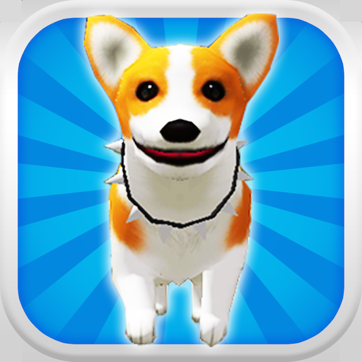 Jack Russell Beagle - A Puppy Dog Run 3D: My Cute Doggy Pet  - Free Edition