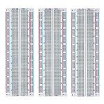 Elegoo 3pcs MB-102 Breadboard 830 Point Solderless Prototype PCB Board Kit for Arduino Proto Shield Distribution...
